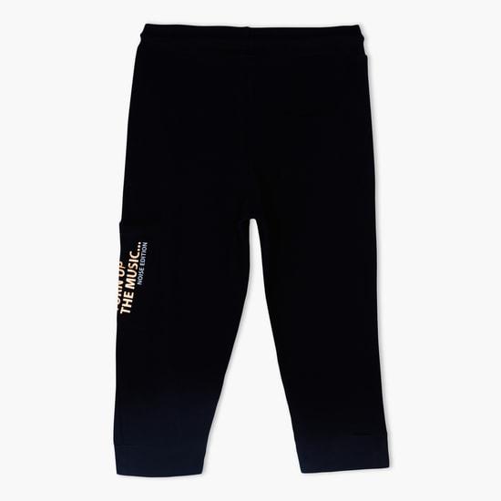 Printed Jog Pants with Drawstring
