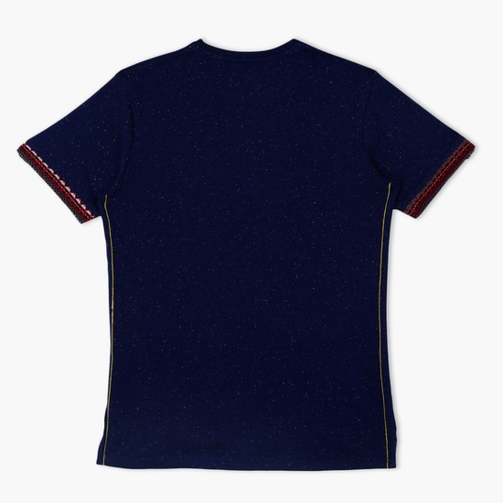 Round Neck Short Sleeves T-Shirt