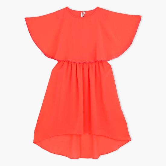Butterfly Short Sleeves Dress