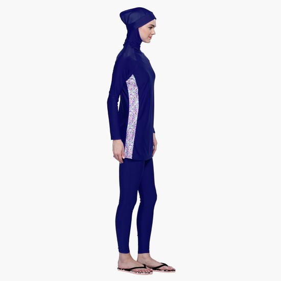 Long Sleeves Burkini Swimsuit