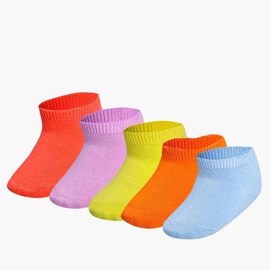 Ankle Length Socks - Set of 5