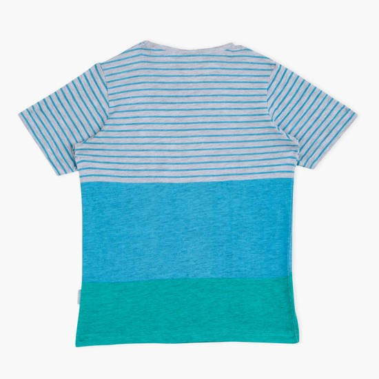 Minion Printed Round Neck T-Shirt