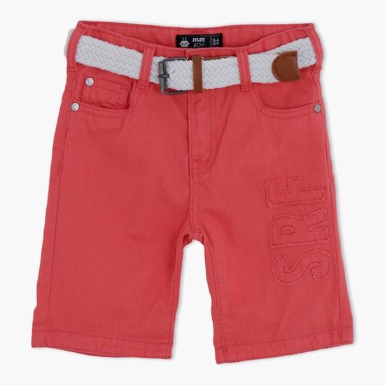 Shorts with Elasticised Waistband
