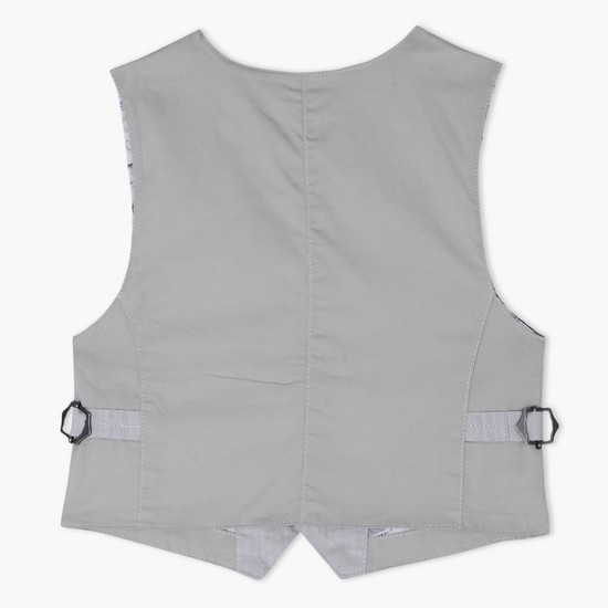 Waistcoat with Button Placket