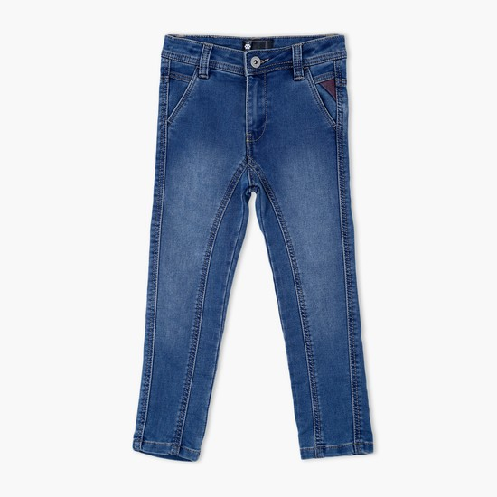Full Length Jeans with Panels