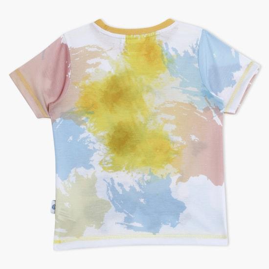 Minions Print Short Sleeves Crew Neck T-Shirt