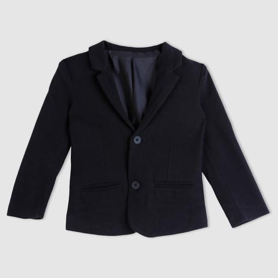 Notch Collar Long Sleeves Blazer