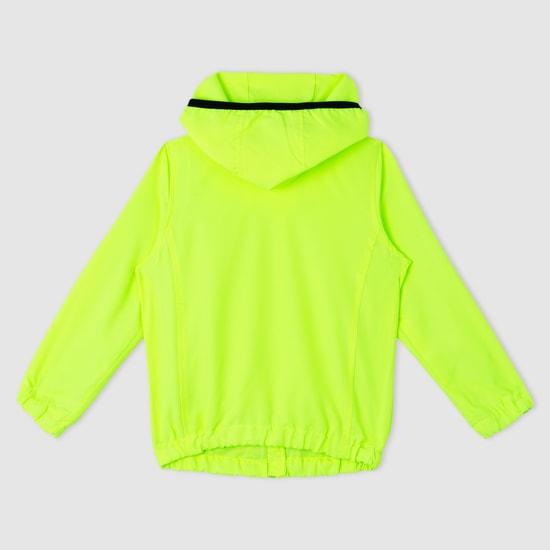 Long Sleeves Jacket with Hood