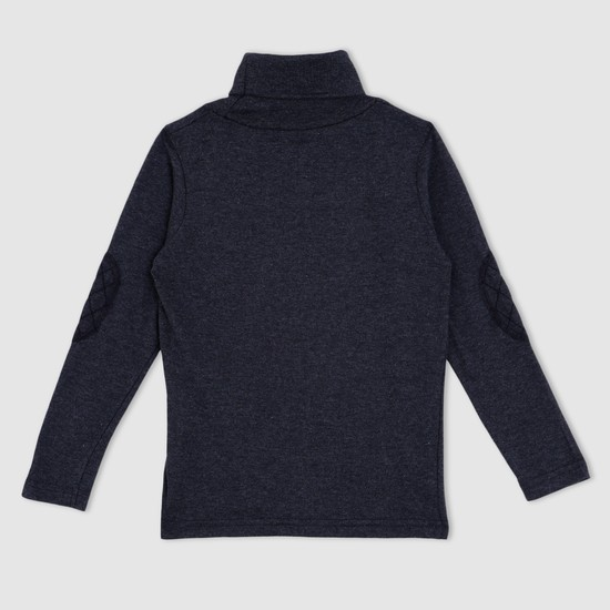 Turtle Neck Long Sleeves Sweater