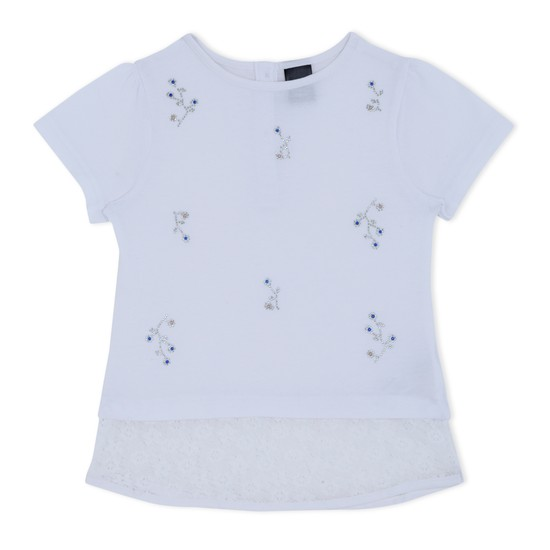 Short Sleeves Knitted Top