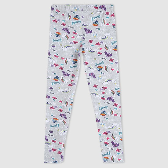 My Little Pony Printed Full Length Leggings with Elasticised Waistband