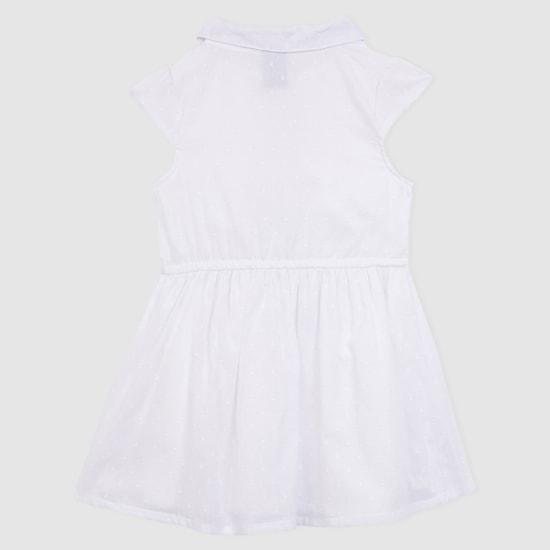Cap Sleeves Dress