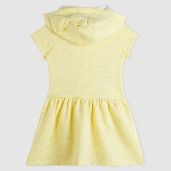 Daisy Duck Printed Short Sleeves Dress