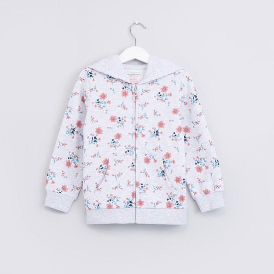 Floral Printed Long Sleeves Jacket