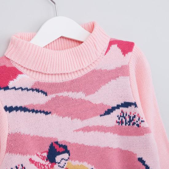 Printed Long Sleeves Sweater