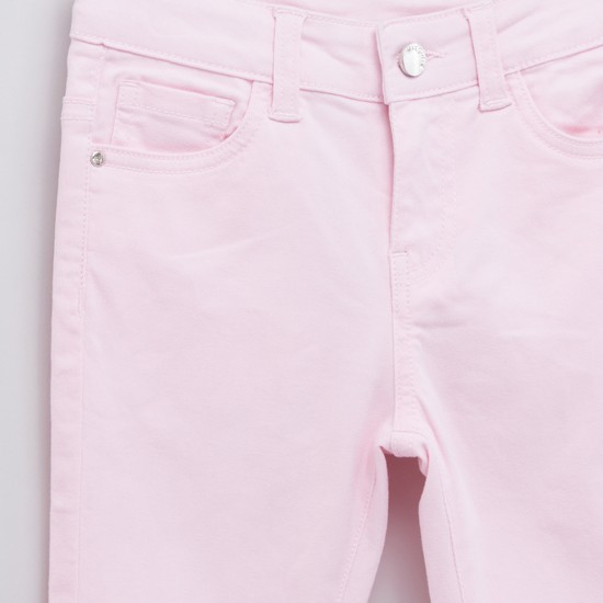 Pocket Detail Jeans with Belt Loops