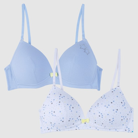 Padded Bra with Adjustable Straps