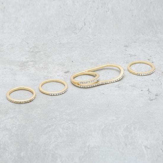 Embellished Rings Set