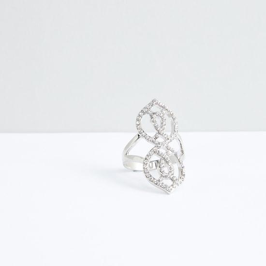 Studded Metallic Ring