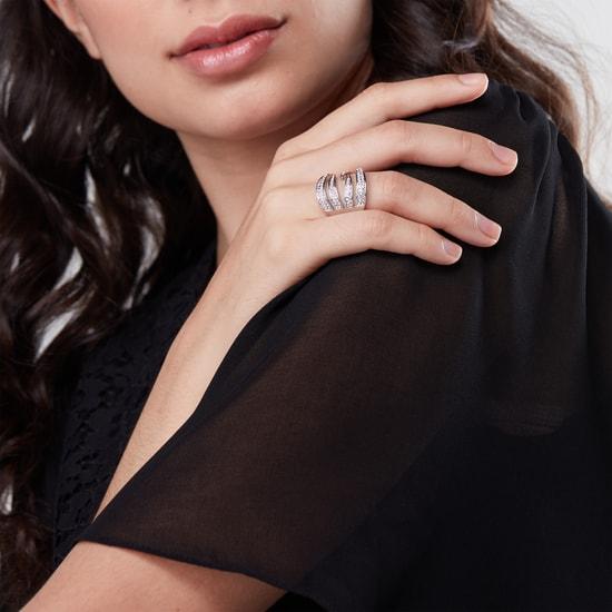 Studded Finger Ring