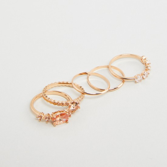 Set of 5 - Assorted Rings