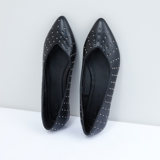 Studded Slip-On Shoes