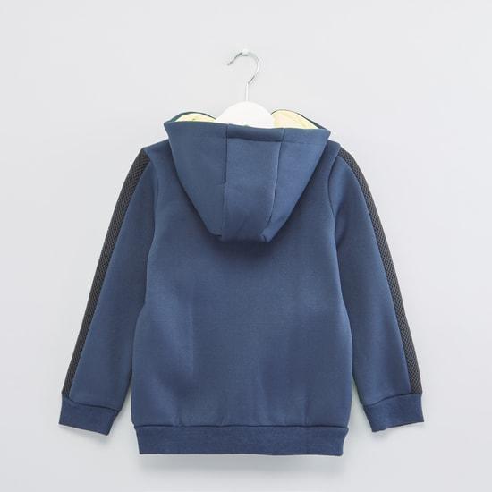 Textured Pocket Detail Long Sleeves Jacket
