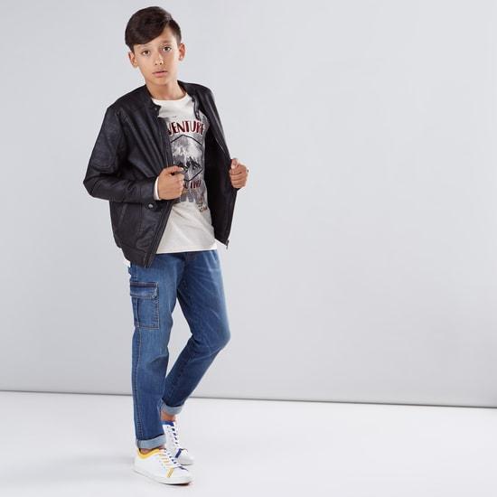 Pocket Detail Long Sleeves Jacket