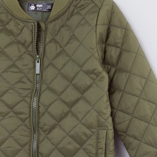 Quilted Long Sleeves Jacket