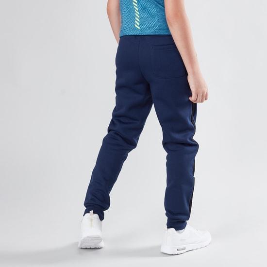 Full Length Printed Jog Pants with Pocket Detail