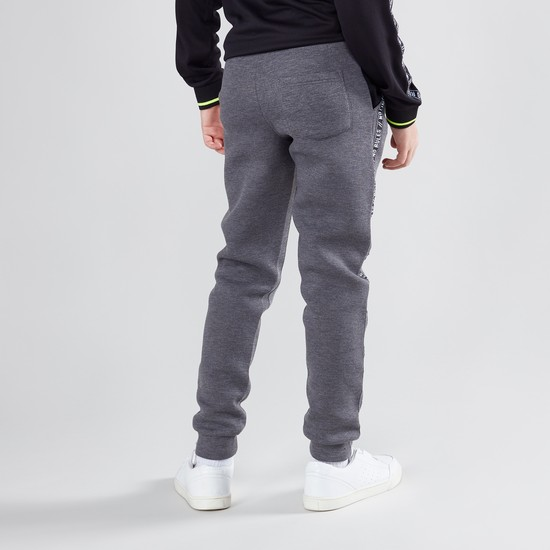 Printed Jog Pants with Drawstring and Elasticised Waistband