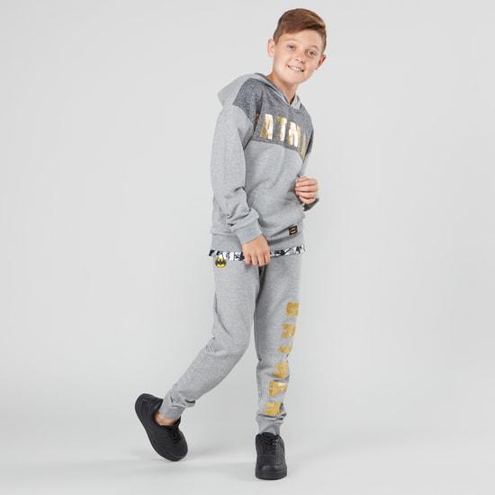 Batman Printed Jog Pants with Elasticised Waistband and Pocket Detail