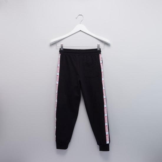 Marvel Printed Jog Pants with Elasticised Waistband