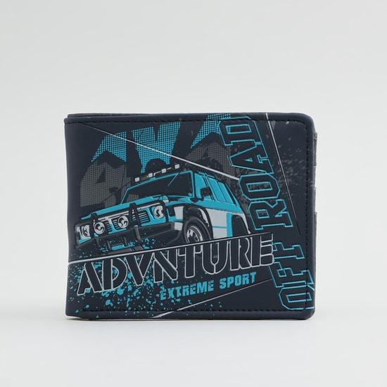 Printed Bi-Fold Wallet