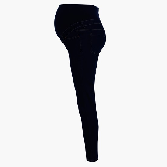 Full Length Maternity Pants with Elasticised Waistband