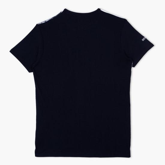 Printed Crew Neck Short Sleeves T-Shirt