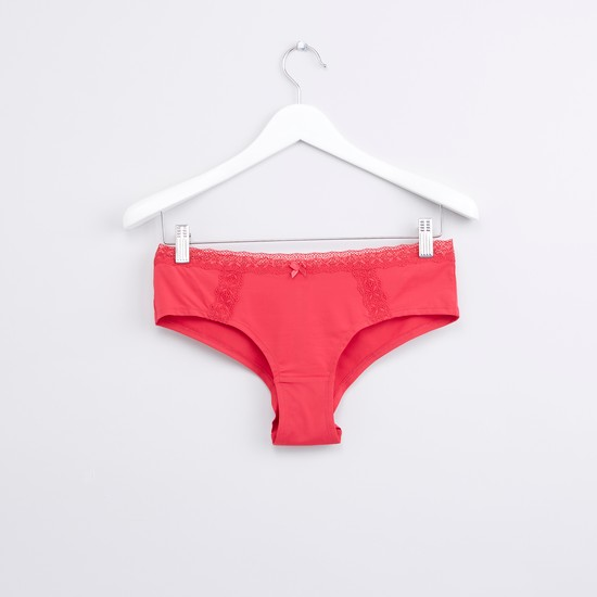 Assorted Brazilian Briefs with Elasticised Waistband - Set of 2