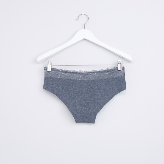 Lace Detail Hipster Briefs