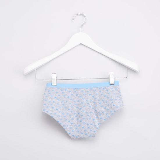 ملابس داخلية بطبعات وخصر مطّاطي واسع - طقم من 5 قطع