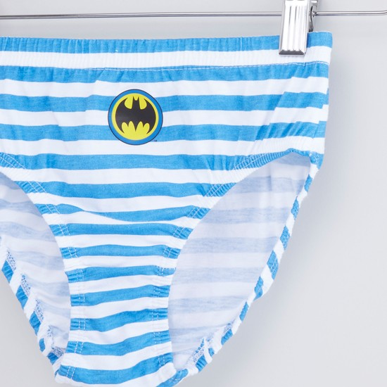 Set of 3 - Batman Printed Briefs with Elasticised Waistband