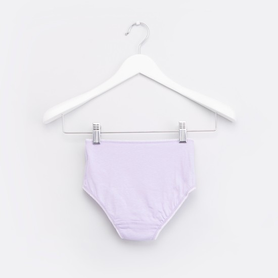 Set of 5 - Printed Briefs with Bow Detail