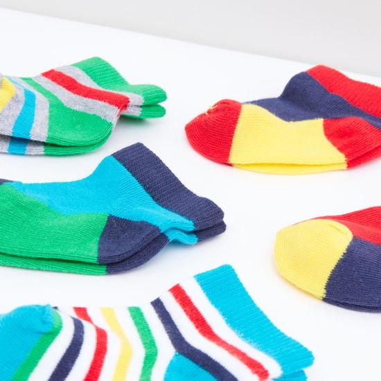 Striped Socks - Set of 5