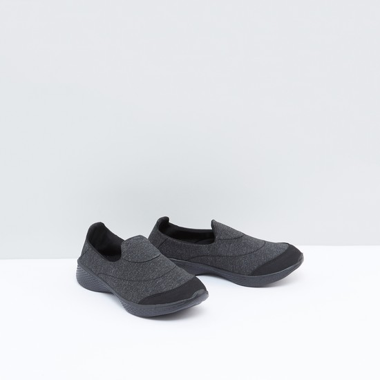 Stitch Detail Slip-On Shoes