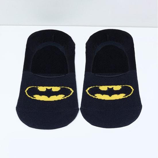 MAX Batman Patterned Footlets - 10-12Y