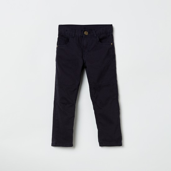 MAX Solid 5-Pocket Trousers