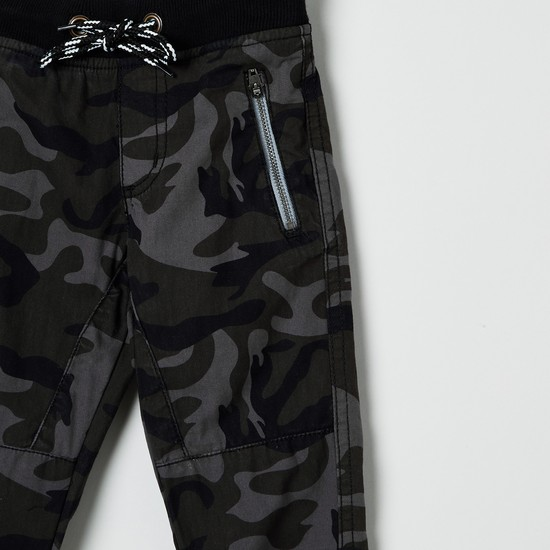 MAX Camouflage Trousers with Side Pockets