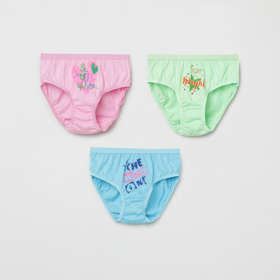 MAX Printed Hipster Panties - Pack of 3