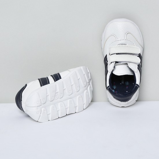 MAX Panelled Velcro Strap Shoes
