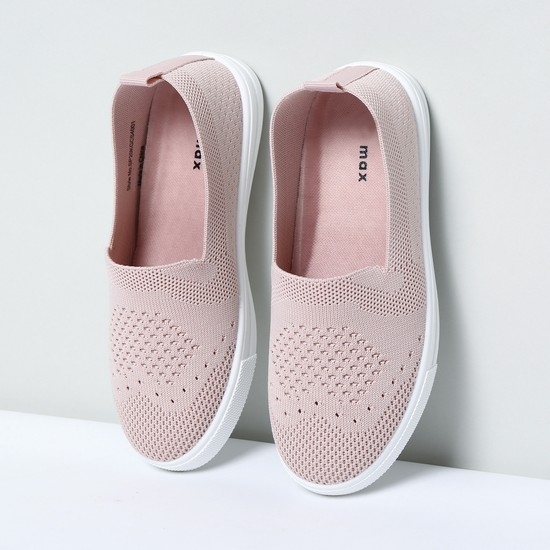 MAX Slip-On Shoes with Mesh Upper