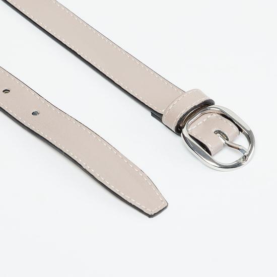 MAX Belt with Running Stitch Detail